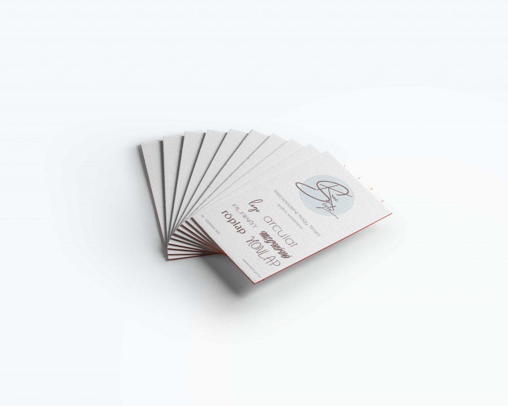 névjegykártya tervezés